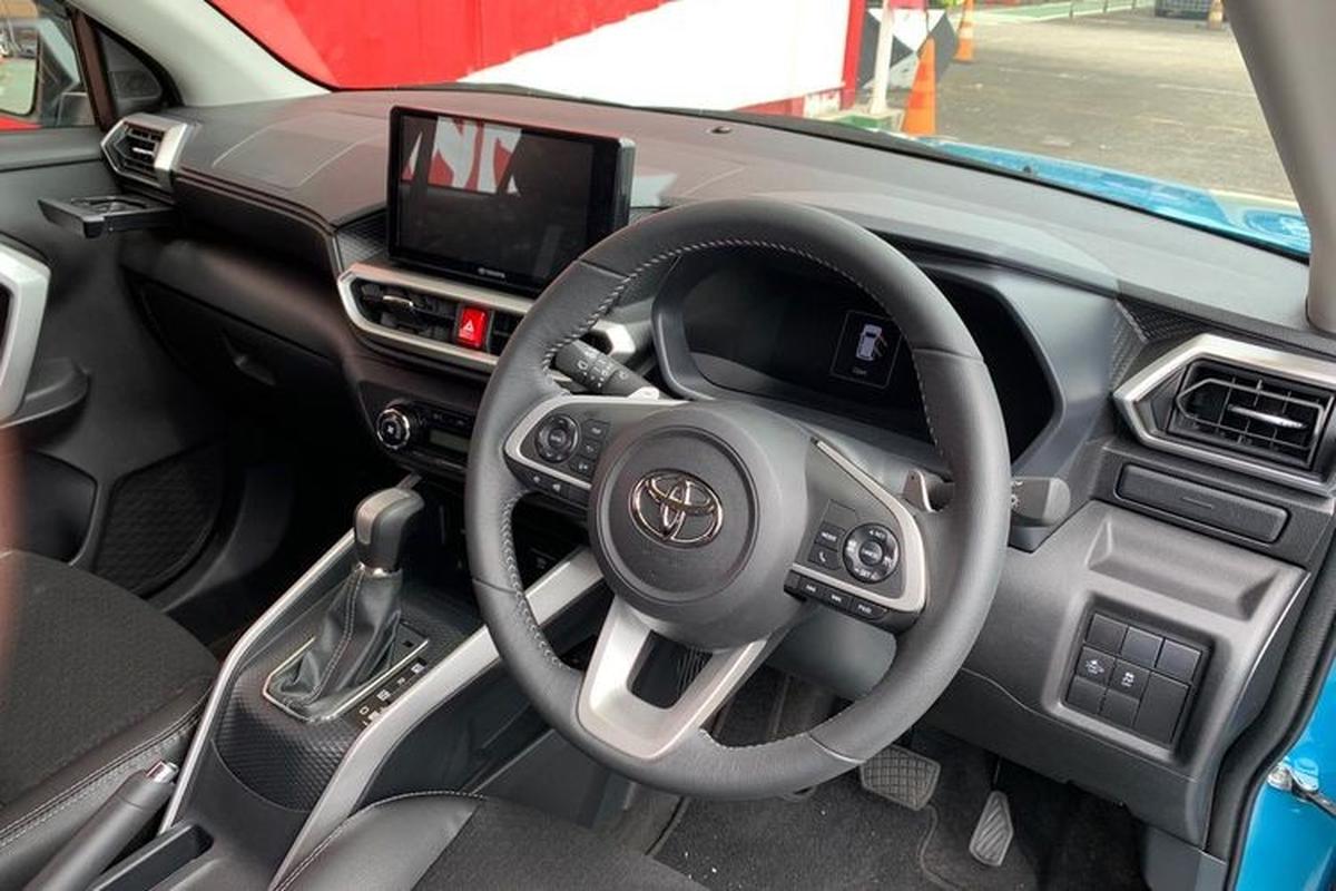 Toyota Raize 2021 duoi 400 trieu dong chao khach Dong Nam A-Hinh-5