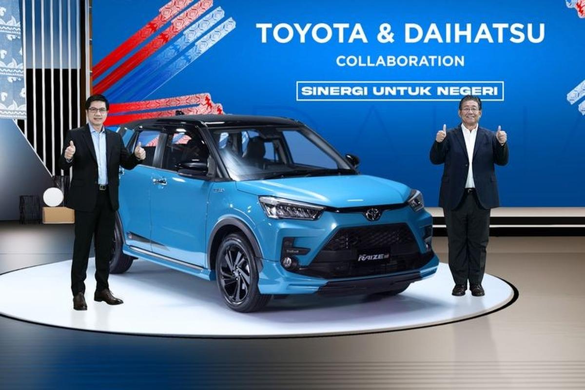 Toyota Raize 2021 duoi 400 trieu dong chao khach Dong Nam A