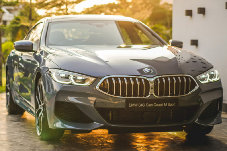 The salesman of the BMW 840i Gran Coupe, about 6.7 million units in Vietnam-Hinh-7