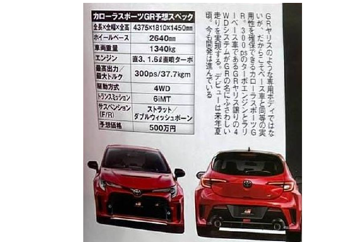 "Toyota Corolla GR 2022 tu 1 ty dong, ""de doa"" Volkswagen Golf R-Hinh-5"
