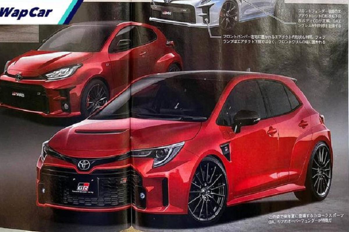 "Toyota Corolla GR 2022 tu 1 ty dong, ""de doa"" Volkswagen Golf R"