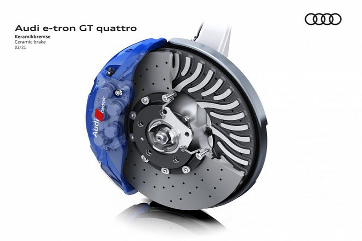 Audi e-tron GT 2022 chay dien len ke tai Chau Au, tu 2,7 ty dong-Hinh-6