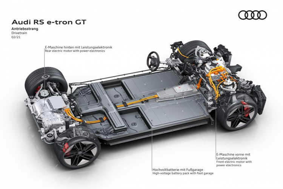 Audi e-tron GT 2022 chay dien len ke tai Chau Au, tu 2,7 ty dong-Hinh-7