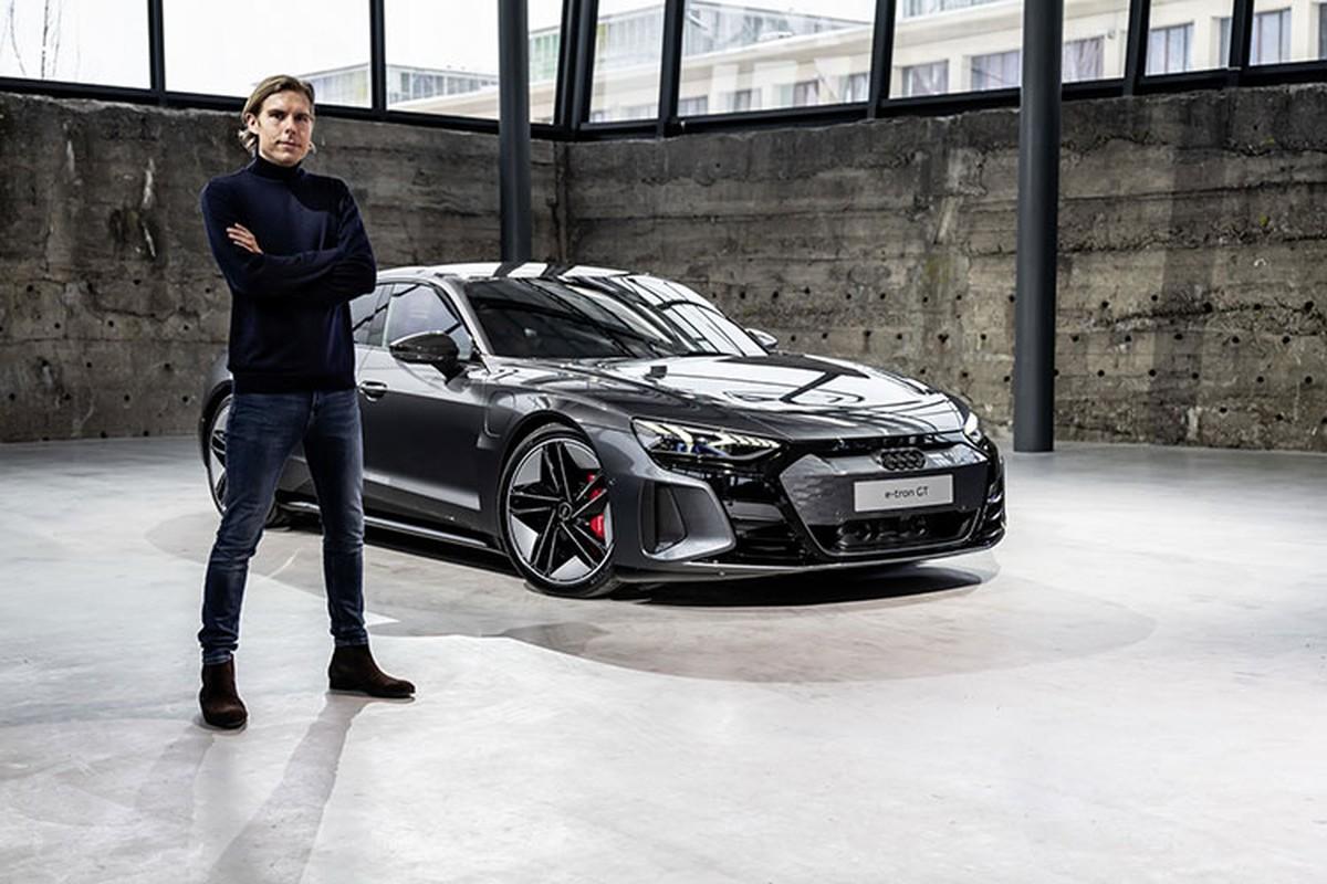 Audi e-tron GT 2022 chay dien len ke tai Chau Au, tu 2,7 ty dong-Hinh-9