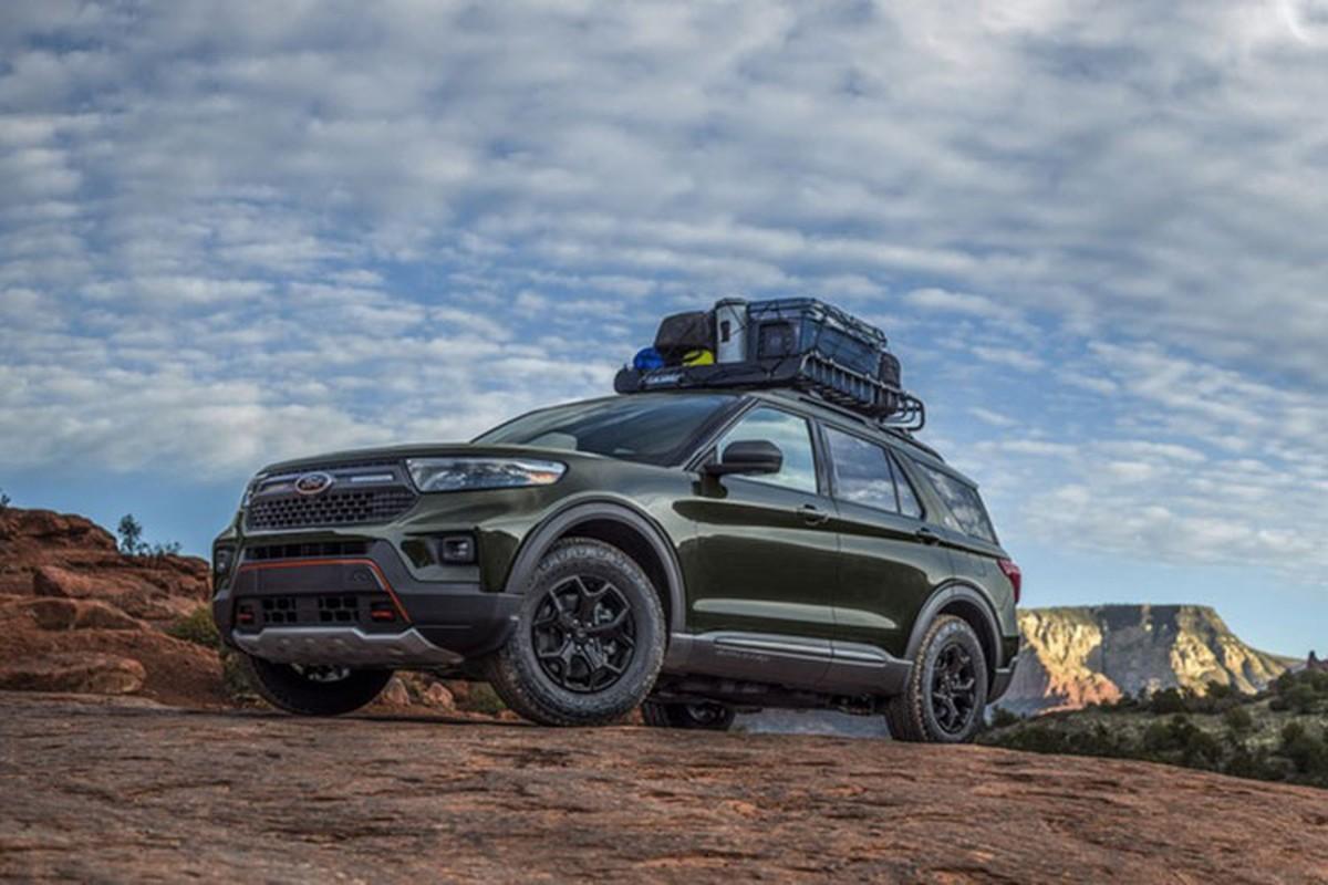Ford Explorer Timberline 2021 - mau SUV co the di bat ky dau-Hinh-7