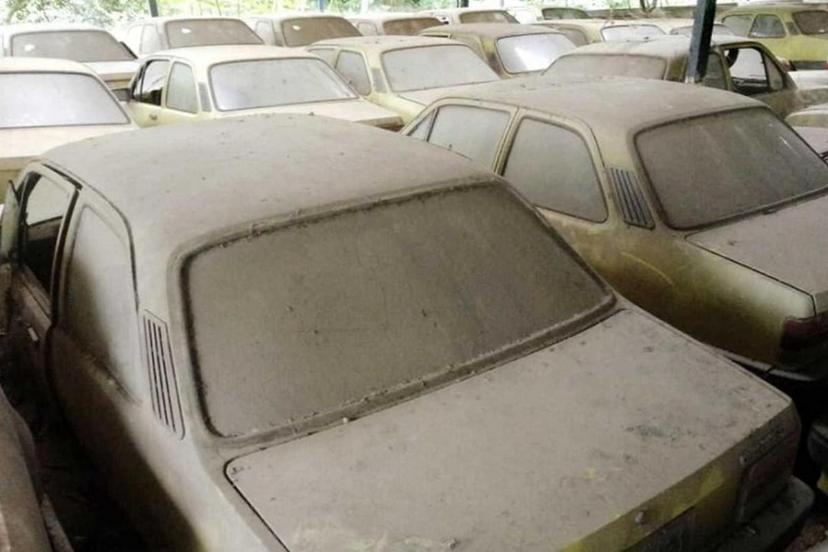 """Phat hien dan xe Chevrolet vut xo cua """"ong hoang taxi"""" mot thoi-Hinh-5"""