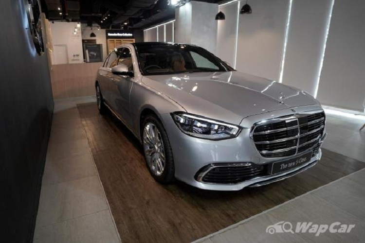Chi tiet Mercedes-Benz S-Class 2021 tu 4,8 ty dong tai Indonesia-Hinh-6