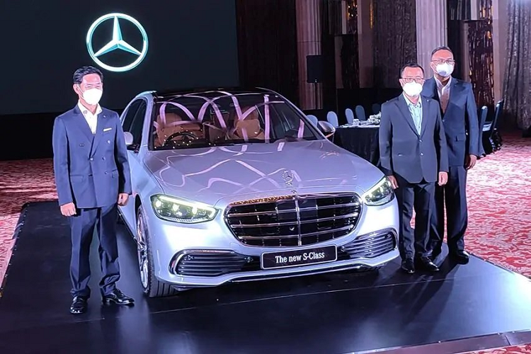 Chi tiet Mercedes-Benz S-Class 2021 tu 4,8 ty dong tai Indonesia
