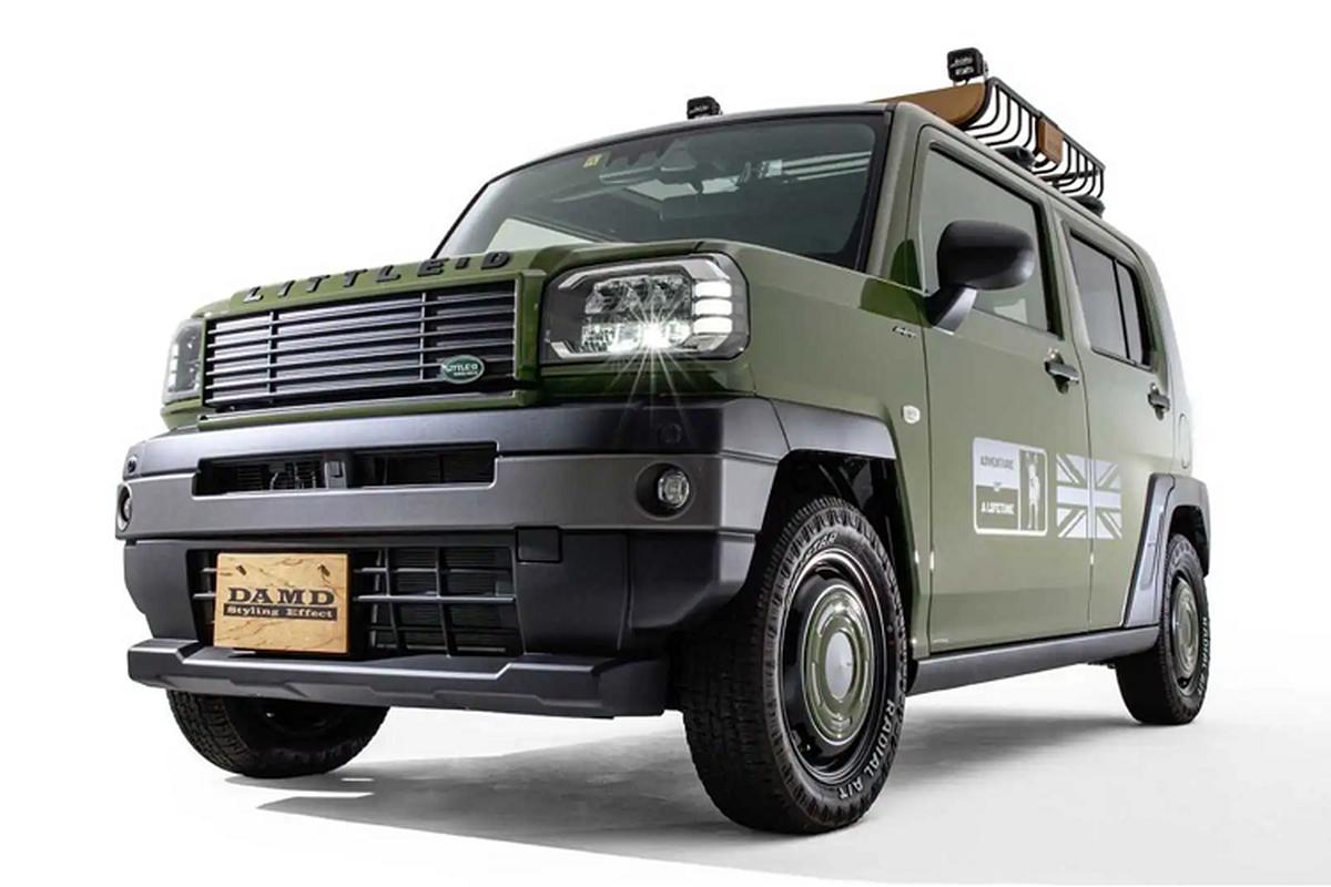 Land Rover Defender dam chat,
