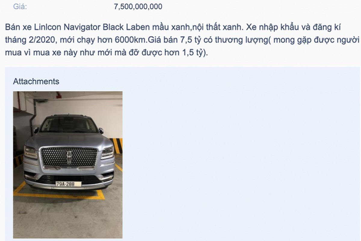 Linlcon Navigator cua dai gia Nha Trang