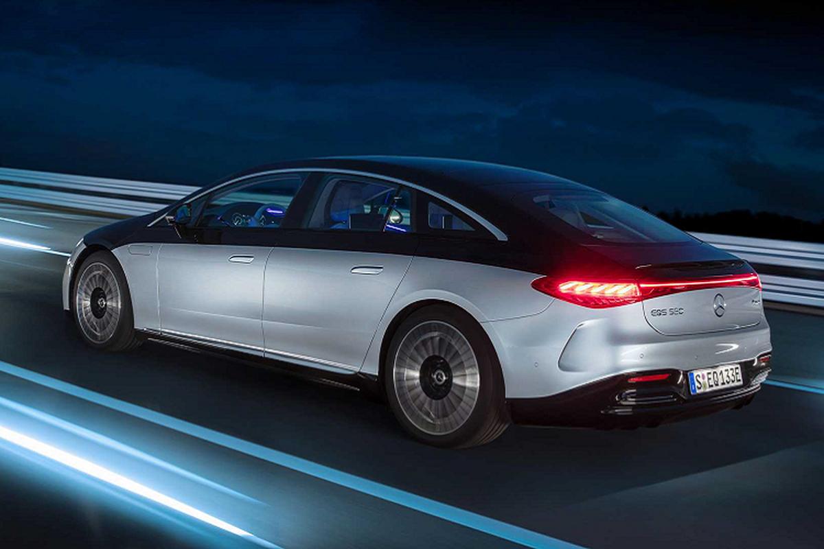 Mercedes-Benz Viet Nam sap ra mat xe sang dien EQS 2022 moi-Hinh-7