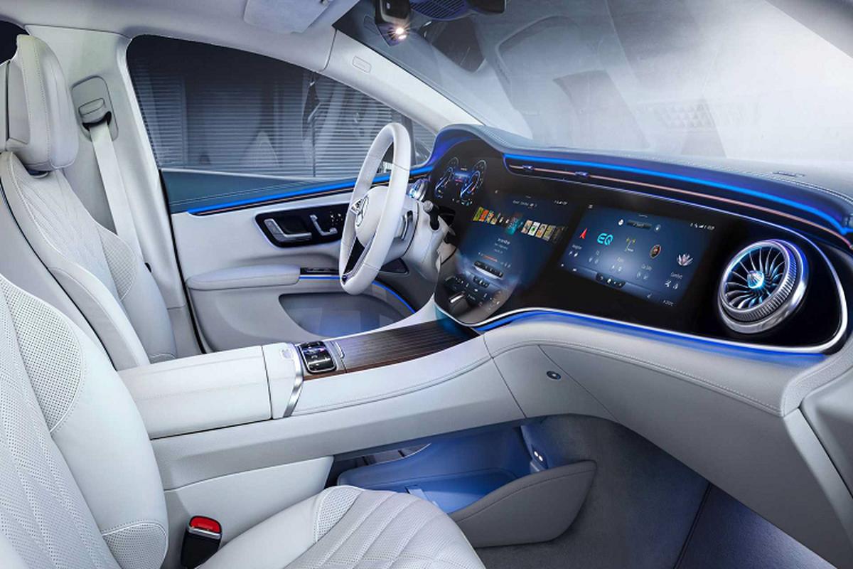 Mercedes-Benz Viet Nam sap ra mat xe sang dien EQS 2022 moi-Hinh-8