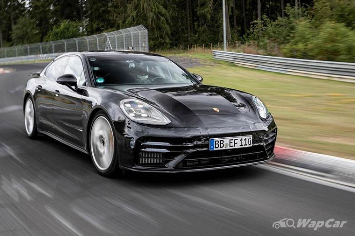 Porsche ra mat Panamera GTS, Turbo S va 4S E-Hybrid the he moi-Hinh-4