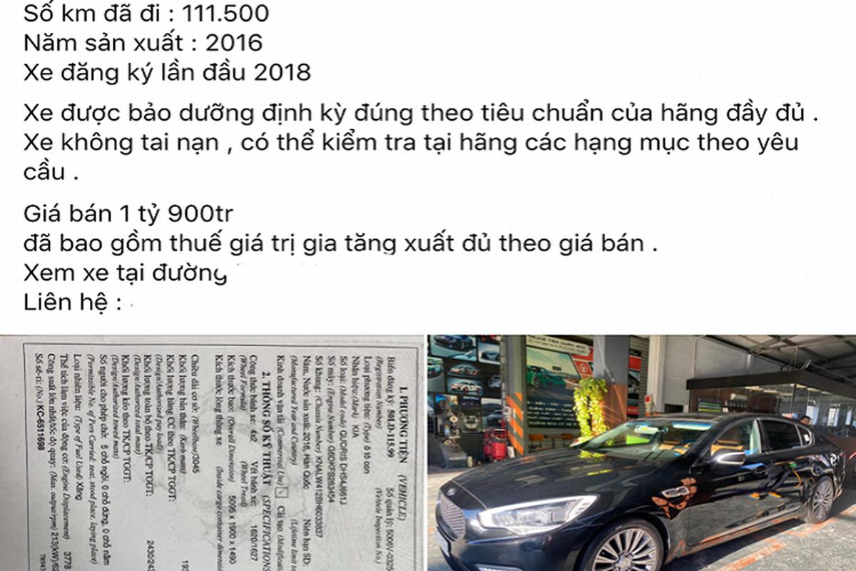 Kia Quoris chay 100.000 km, rao ban toi 1,9 ty tai Viet Nam-Hinh-3