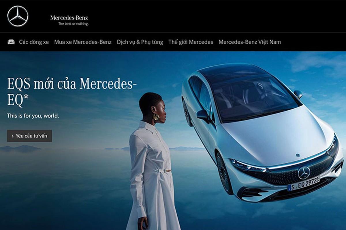 Mercedes-Benz Viet Nam sap ra mat xe sang dien EQS 2022 moi