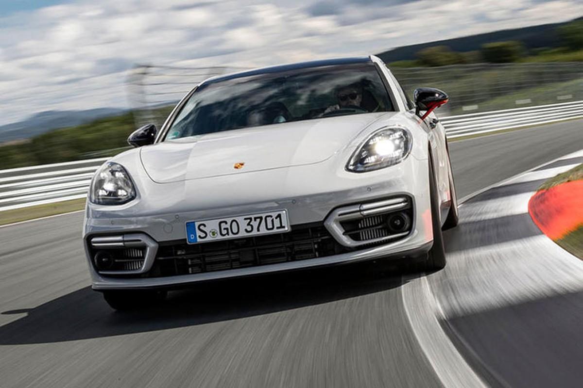 Porsche ra mat Panamera GTS, Turbo S va 4S E-Hybrid the he moi-Hinh-7