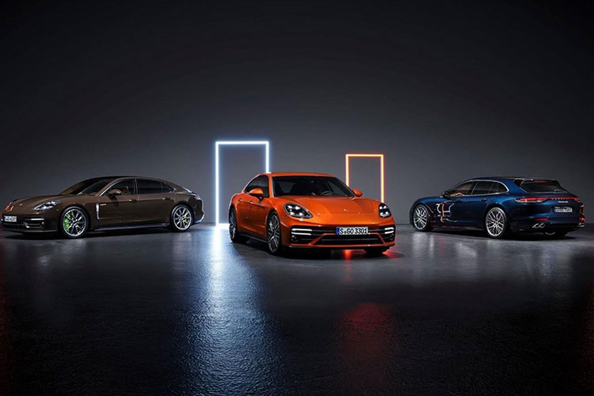 Porsche ra mat Panamera GTS, Turbo S va 4S E-Hybrid the he moi