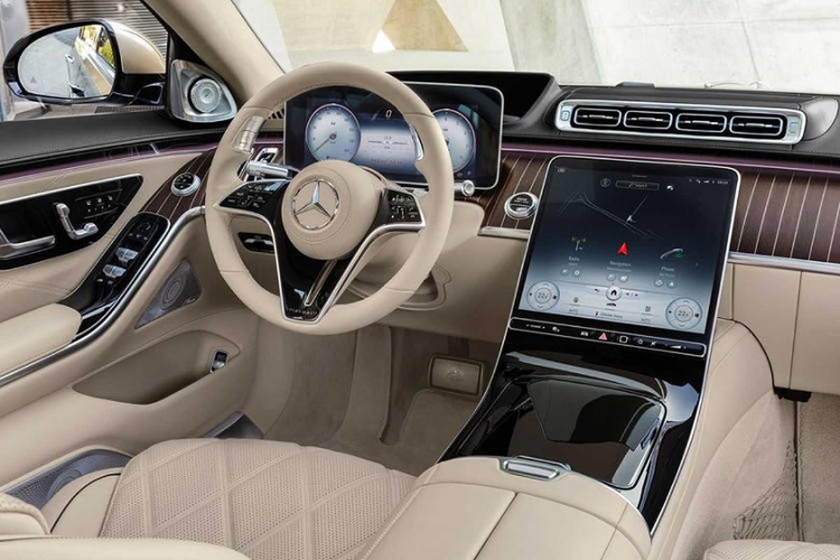 Ngam xe sieu sang Mercedes-Maybach S680 2021 dong co V12-Hinh-4