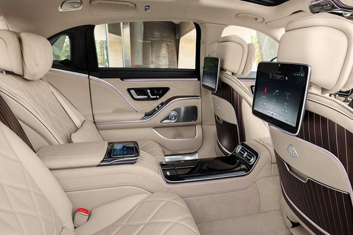 Ngam xe sieu sang Mercedes-Maybach S680 2021 dong co V12-Hinh-5