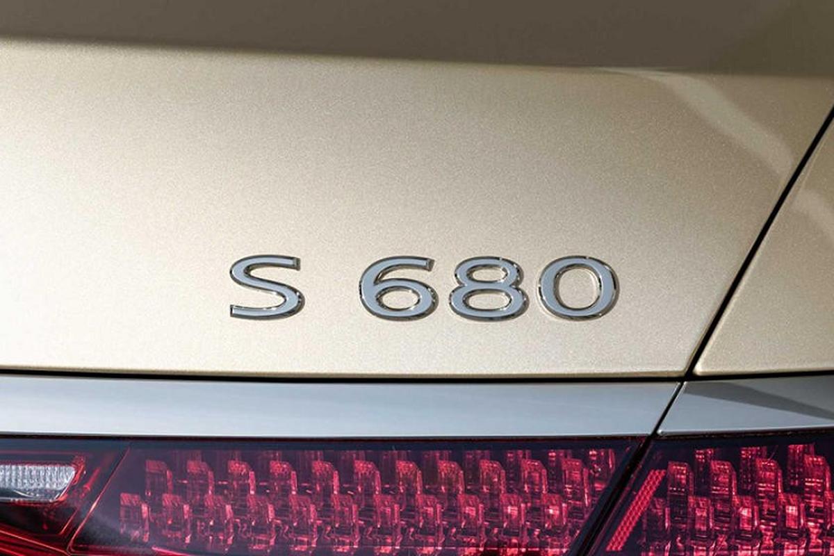 Ngam xe sieu sang Mercedes-Maybach S680 2021 dong co V12-Hinh-6