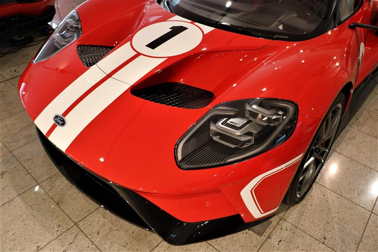 Ford GT Heritage Edition for sale for 35 companies, Dai Gia Viet Phat them-Hinh-4
