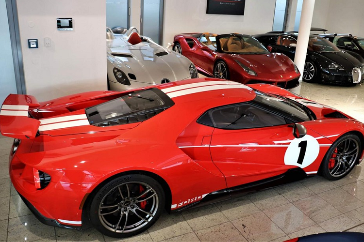 Ford GT Heritage Edition for sale for 35 companies, Dai Gia Viet Phat them-Hinh-7