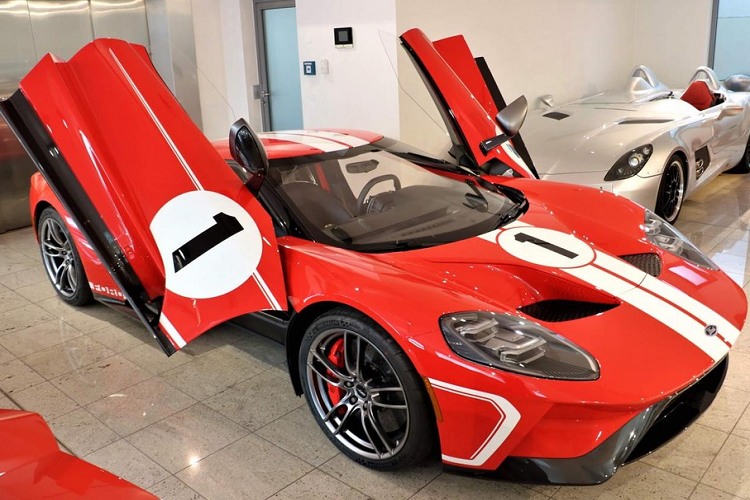Ford GT Heritage Edition for sale for 35 companies, Dai Gia Viet Phat them-Hinh-8
