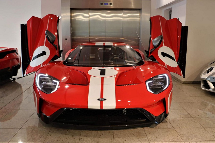 Ford GT Heritage Edition for sale for 35 companies, Dai Gia Viet Phat them-Hinh-9