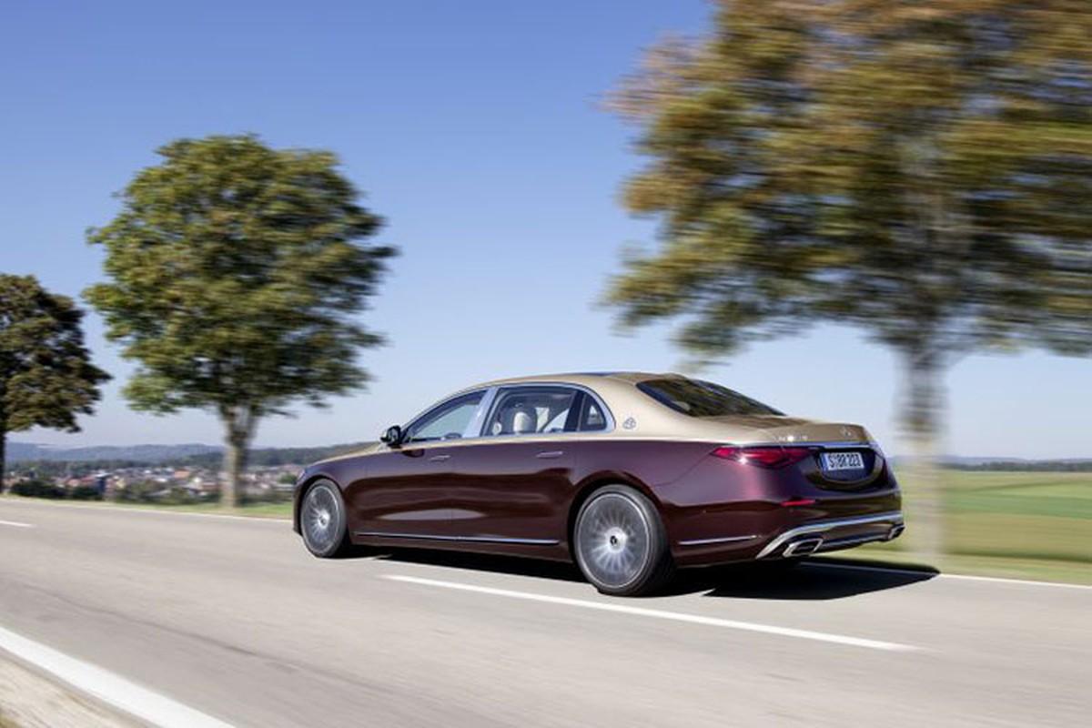 Ngam xe sieu sang Mercedes-Maybach S680 2021 dong co V12-Hinh-10