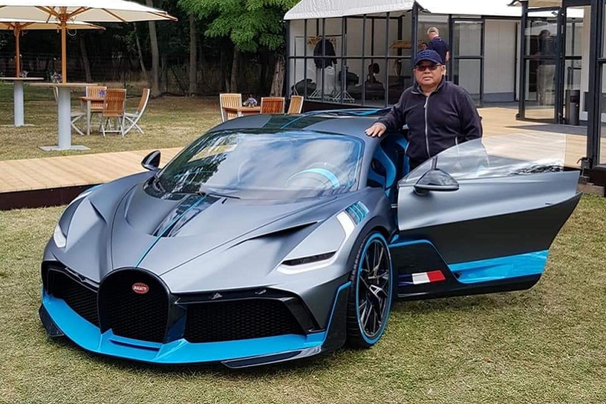 Sieu pham Bugatti Divo hon 330 ty dong dau tien den Dong Nam A