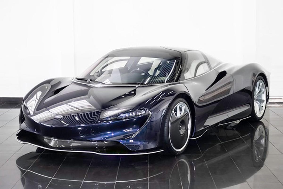 """McLaren Speedtail moi lan banh 1km, """"thet gia"""" hon 80 ty dong"""