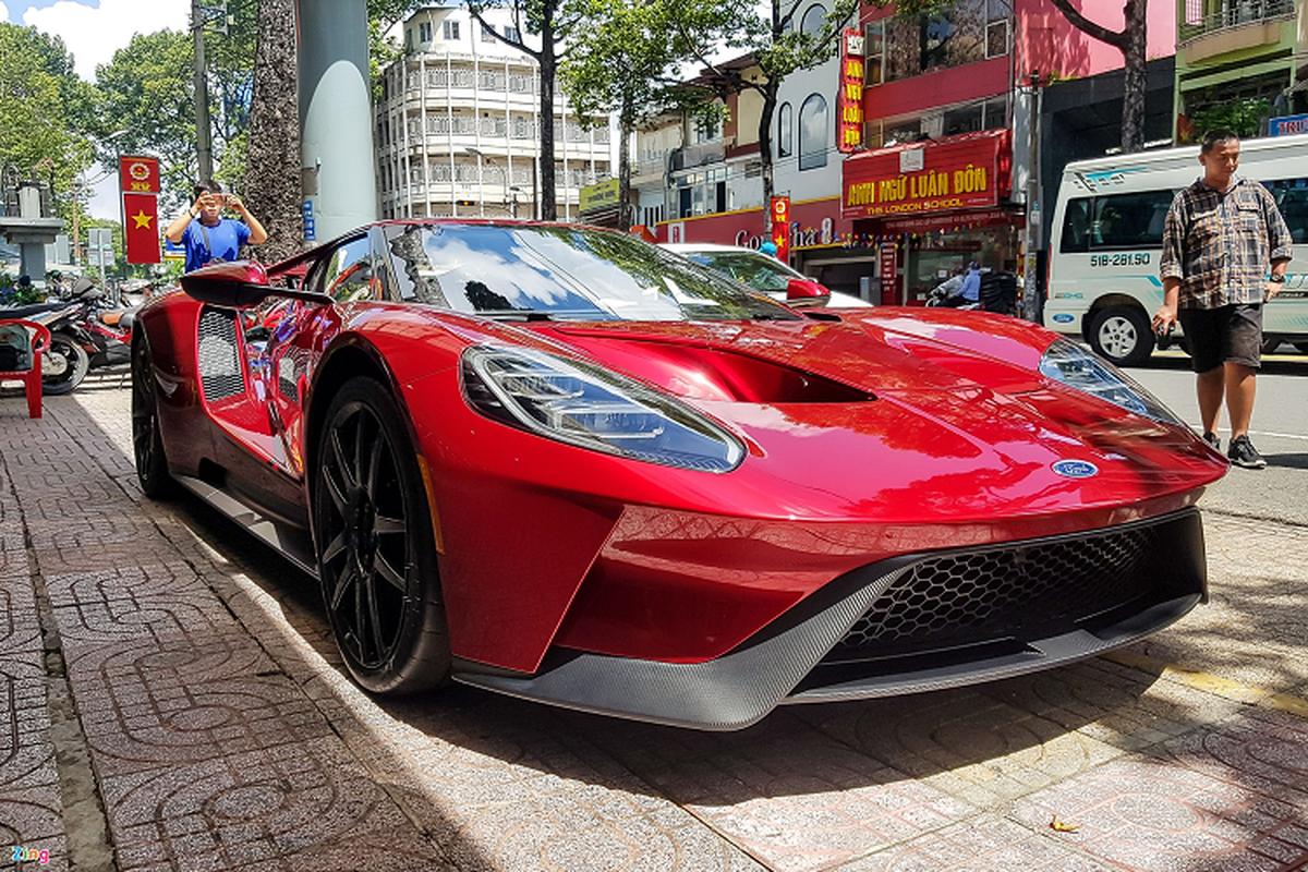 Sieu xe Ford GT doc nhat Viet Nam xuat hien o Sai Gon-Hinh-14