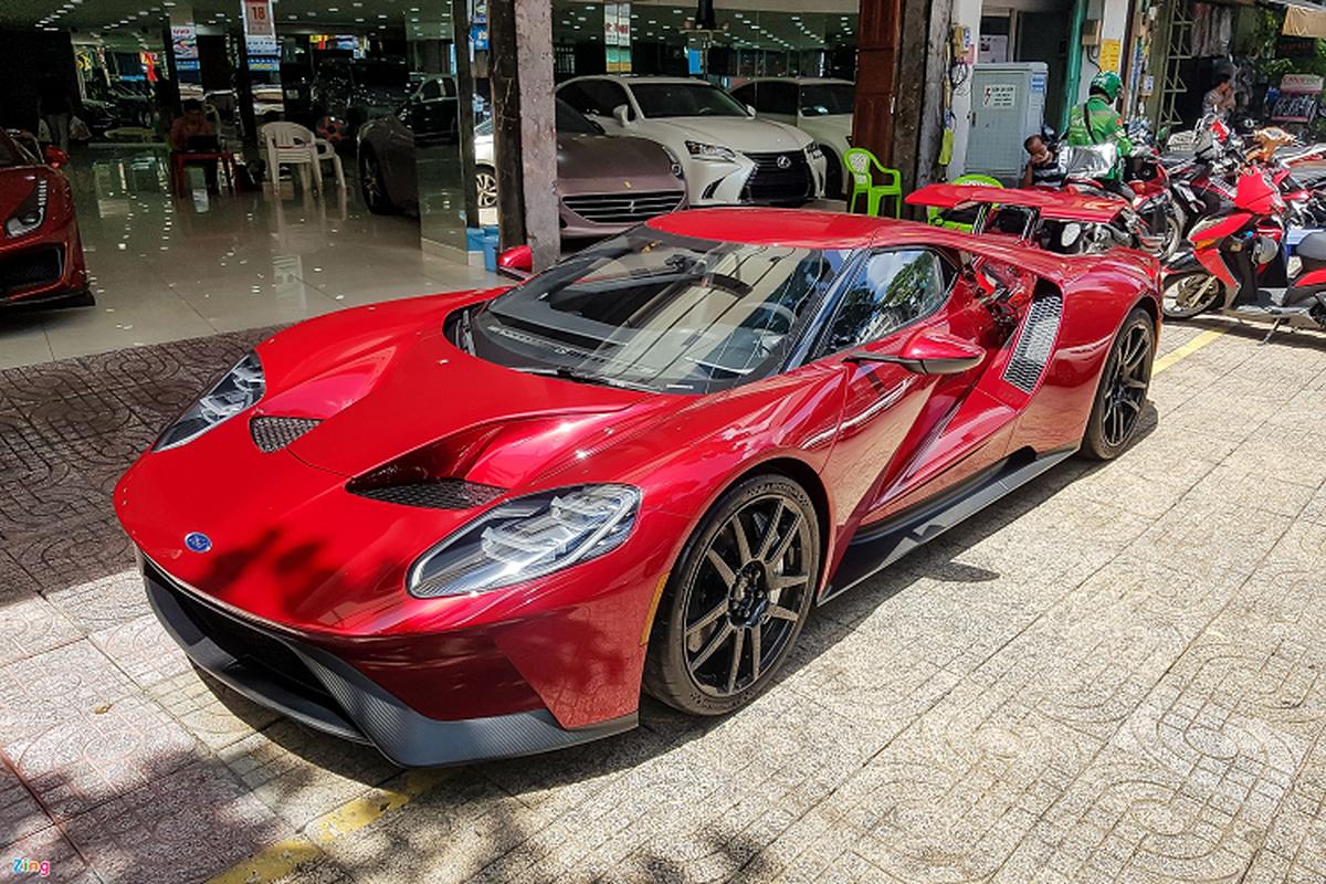 Sieu xe Ford GT doc nhat Viet Nam xuat hien o Sai Gon-Hinh-3