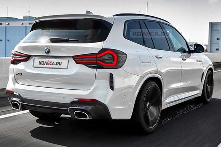 The BMW X3 2022 will now bring the Mercedes-Benz GLC to a standstill - Picture-6