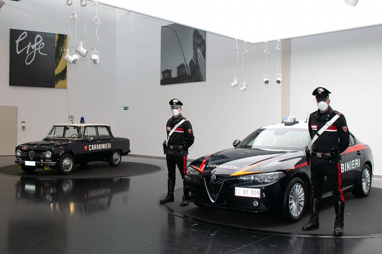 Ngam Alfa Romeo Giulia plays the role of a watchdog Y-Hinh-6