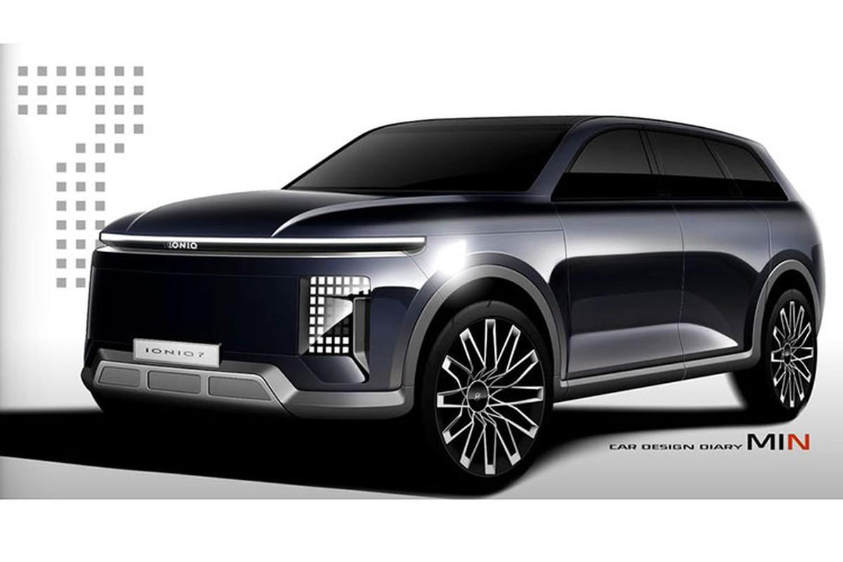 Sedan Hyundai Ioniq 6 va SUV Ioniq 7 lo thong so ky thuat-Hinh-7
