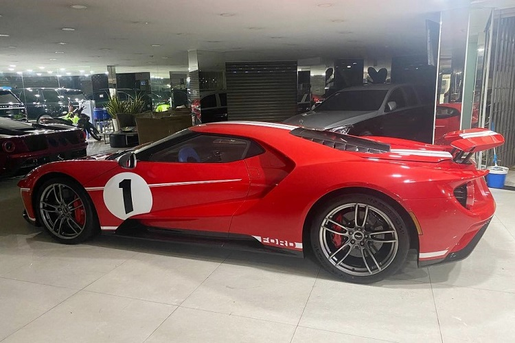 """Ford GT '67 Heritage Edition doc nhat Viet Nam da ve """"chuong""""-Hinh-9"""