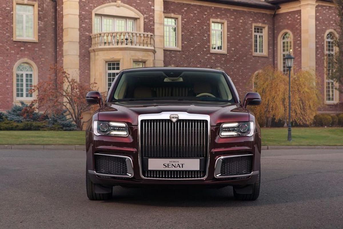 "Aurus Senat - ""Rolls-Royce cua nguoi Nga"" se co gia 5,6 ty dong-Hinh-4"