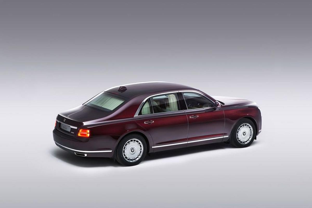 "Aurus Senat - ""Rolls-Royce cua nguoi Nga"" se co gia 5,6 ty dong-Hinh-7"