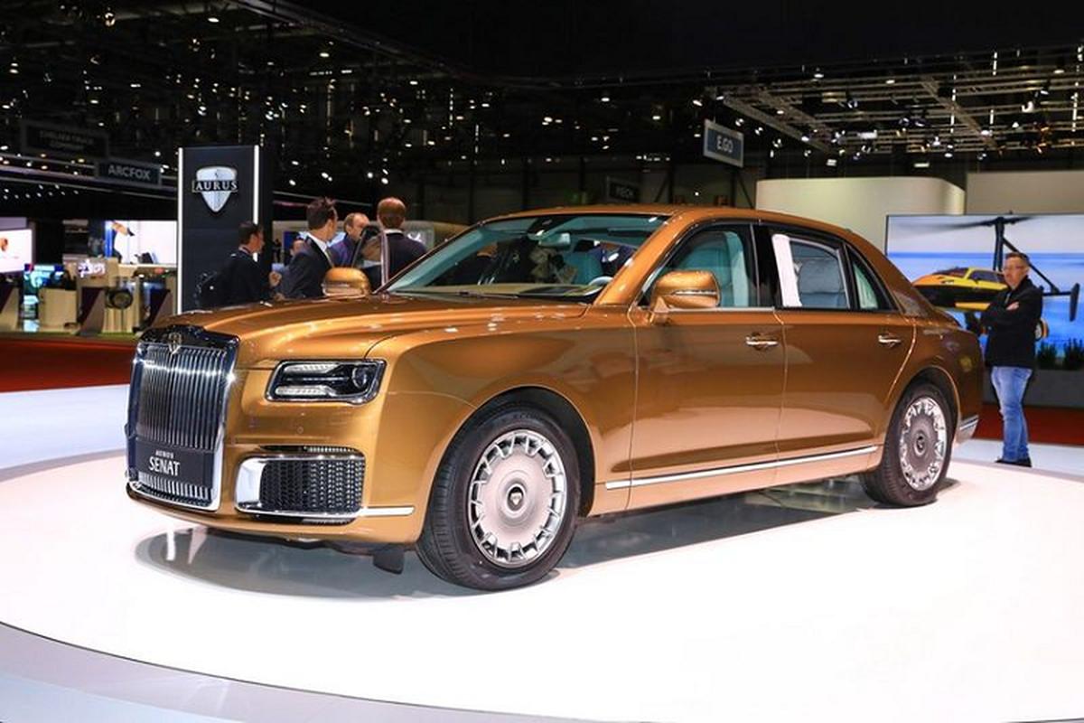 "Aurus Senat - ""Rolls-Royce cua nguoi Nga"" se co gia 5,6 ty dong"
