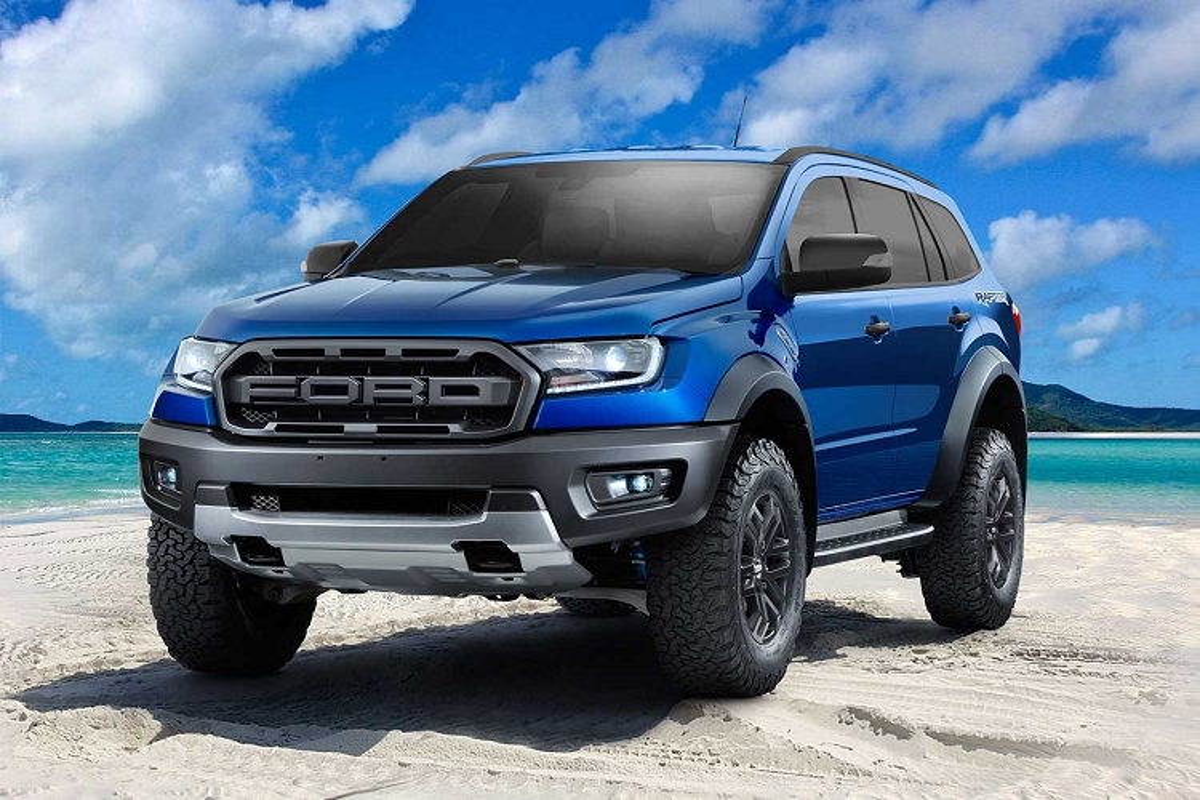 """Ford Everest thế hệ mới bất ngờ lộ diện, """"xịn mịn"""" như xe sang?"""