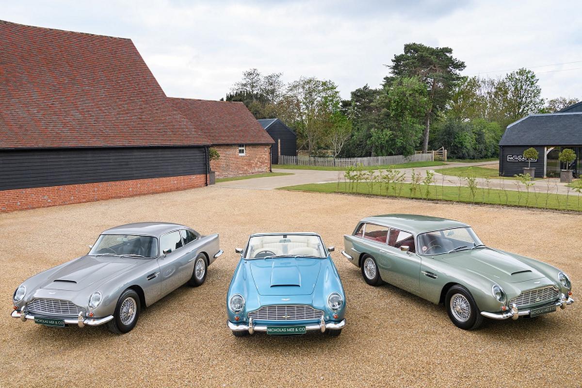 Ba chiec xe Aston Martin DB5 doi co nay ban hon 129 ty dong-Hinh-2