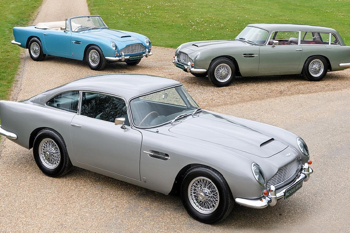 Ba chiec xe Aston Martin DB5 doi co nay ban hon 129 ty dong