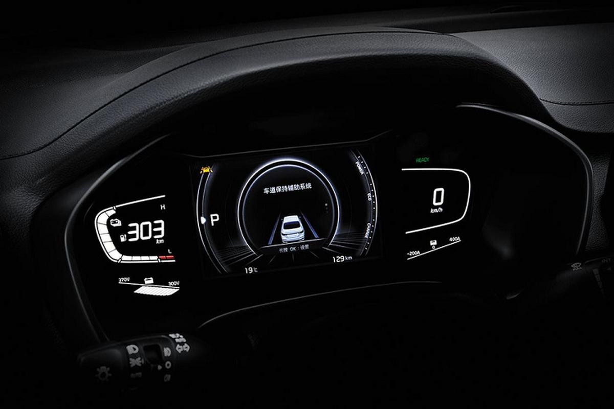 Kia K3 EV 2021 chay 400km/1 lan sac, tu 637 trieu dong-Hinh-7