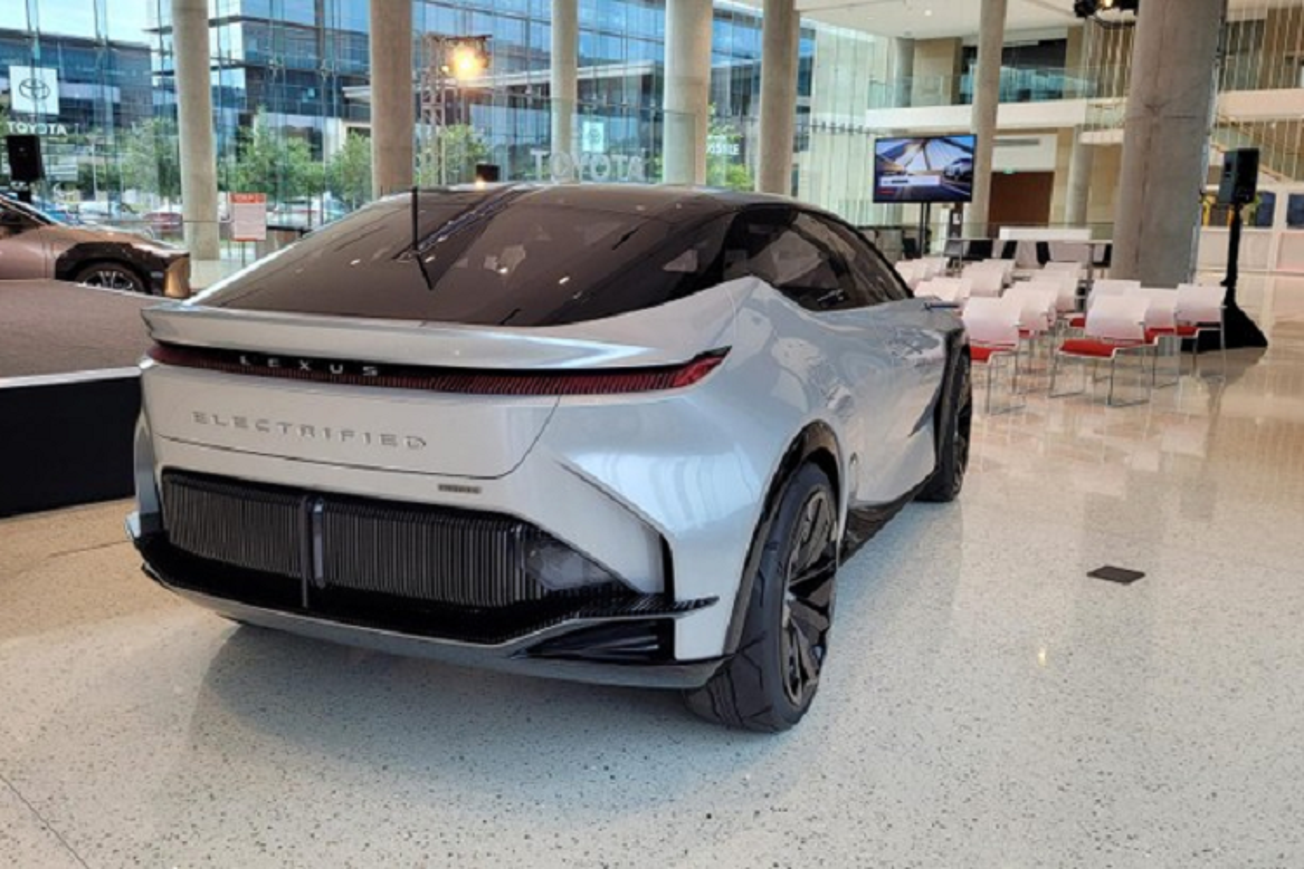Chi tiet SUV Coupe hang sang Lexus LF-Z Electrified sap ra mat-Hinh-6