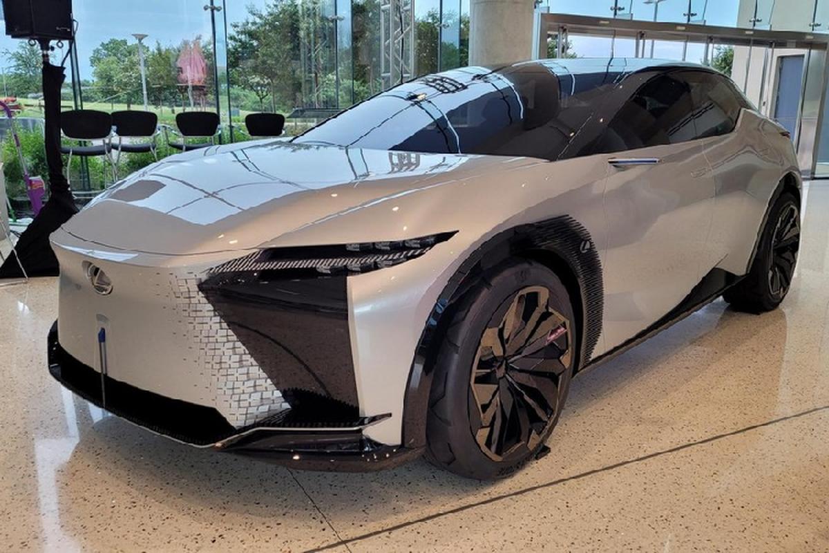 Chi tiet SUV Coupe hang sang Lexus LF-Z Electrified sap ra mat