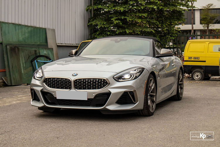 Can canh BMW Z4 M40i 2021 khoang 5 ty dong, doc nhat Viet Nam