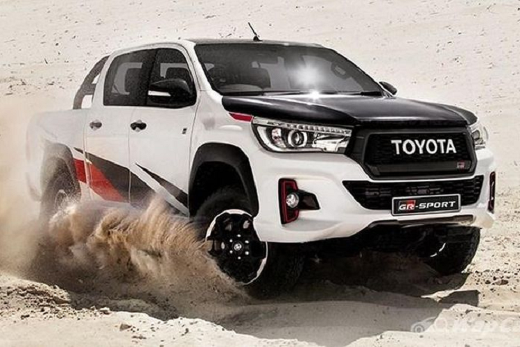 Chi tiet ban tai the thao Toyota Hilux GR Sport 2021 moi