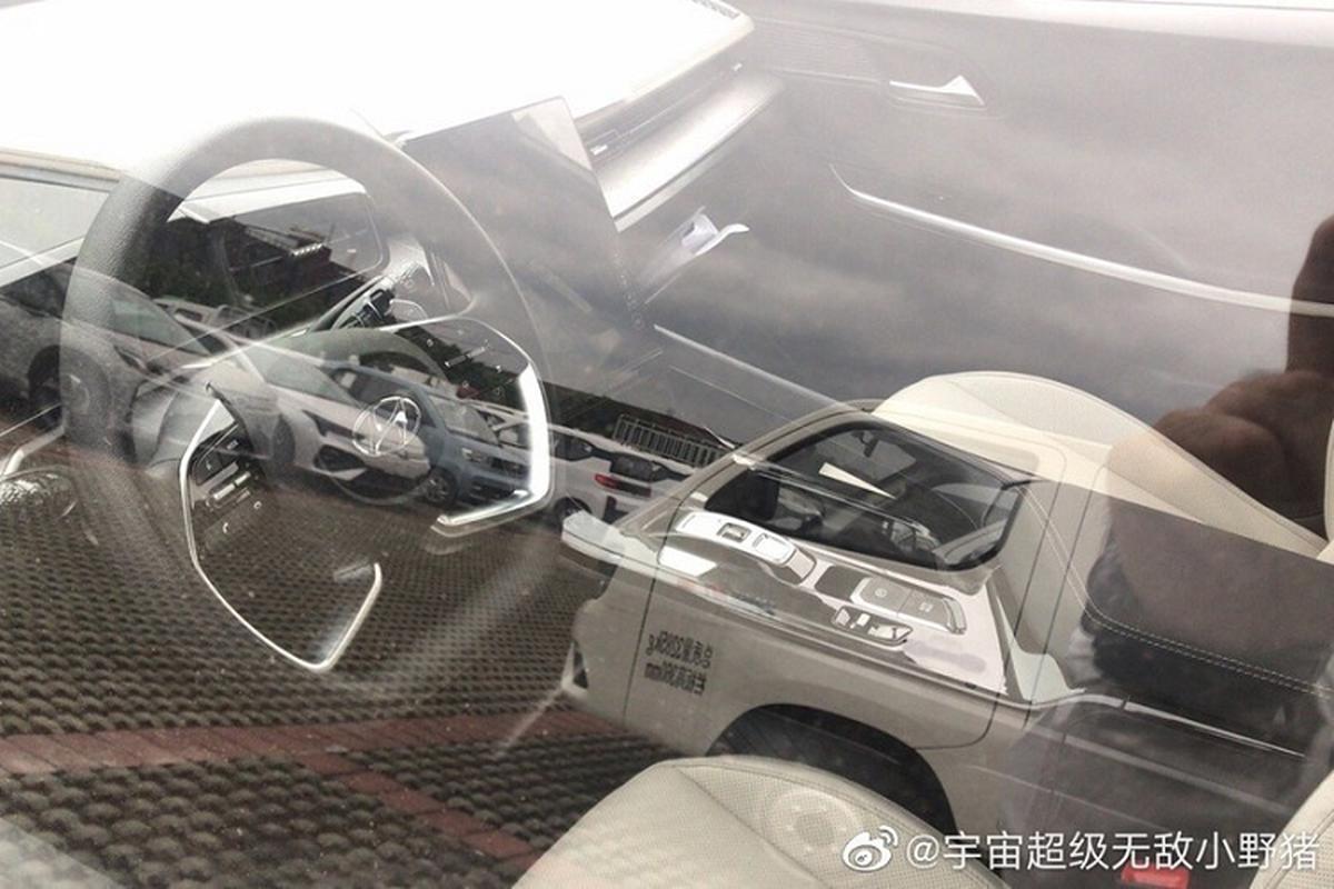 Hyundai Custo 2022 lo dien