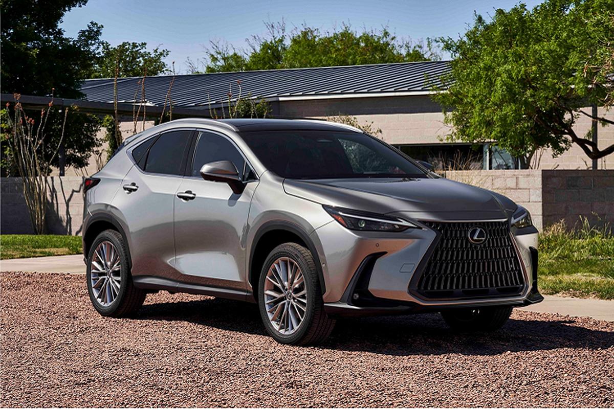 Lexus NX 2022 ra mat, them tuy chon dong co hybrid cam sac-Hinh-2